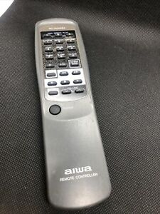 Authentic AIWA Stereo Remote Control RC-TN340EX Tested/Works- No Back