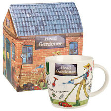At Your Leisure Squash Mug Head Gardener 400ml in Gift Box