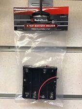 Radio Shack 4 x 'AA' 1.5v Size Battery Holder 6v AA - Brand NEW Tandy Sealed