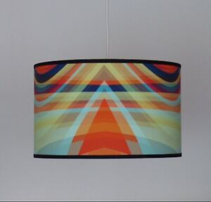 Beautifully Handmade Drum Lampshade In 'Bliss' by Parris Wakefield