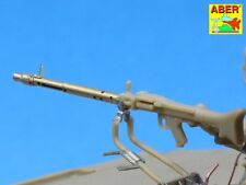 7,92mm MG34 BARRELS W/PANZERMANTEL (2 PCS) for PANTHER, TIGER #35L98 1/35 ABER