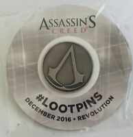 3 BFF SET LOT NEW Assassin's Creed Brotherhood Emblem Pin LOOT CRATE Exclusive