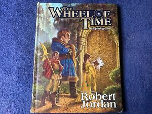 Wheel Of Time Roleplaying Game (Hardcover) RARE 1st Print D20 System D&D Wizards