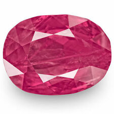 Oval GRS Certified Loose Rubies