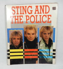 1984 Sting and The Police Spiral 64 Page Photo Book