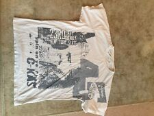 Mens White T Shirt from New Look Size M