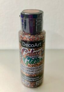 DecoArt GALAXY GLITTER (NEW)  - BRONZE ASTEROID  59ml