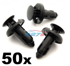 50x 8mm Plastic Trim Clips for Sill Covers, Side Skirts & Sill Trims for Honda
