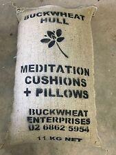 Bio-oz Buckwheat Hull 11kg Australian Grown for Pillows & Meditation Cushions