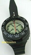 Scuba diving Compass Gauge new Tech dive Polaris kit Beaver snorkel Wrist strap