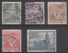 Denemarken gestempeld 1936 used 228-232 - Reformatie 400 Jaar