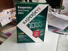 Kaspersky Antivirus 2011 3 user 1 Year License BNIB