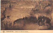Br36011 Grottes de Han L Entree de la salle des Draperies      Belgium