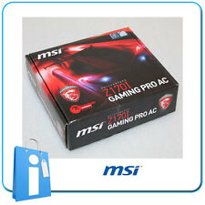 Placa base mITX Z170 MSI Z170i GAMING PRO AC Socket 1151 con Accesorios