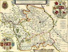 Reproduction carte ancienne - Flandre Française XVIIè