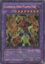 YuGiOh Elemental Hero Plasma Vice - CT04-EN006 - Secret Rare - Limited LP
