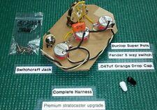 Stratocaster wiring upgrade - Pots to last a lifetime /Orange Drop Cap/Fender 5x