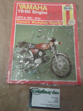 Haynes Manual 474 For YAMAHA YB 100 Singles 1973 to 1991. 97cc