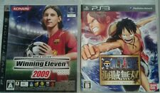 2 giochi ps3 japan: World Soccer Winning Eleven 2009; One Piece Kaizoku Musou