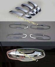 Chrome Door Handle Cup Bowl Cover Trim for 2013-2017 Škoda Octavia