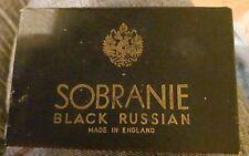 Vintage Sobranie Black Russian Cigarette Box. No Contents.