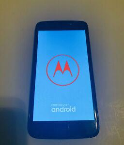 Motorola MOTO Smartphone Model XT1766 Black
