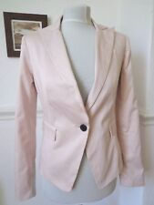 Ladies Size 8 Pastel Pink Tailored Jacket - New Look. occasion work