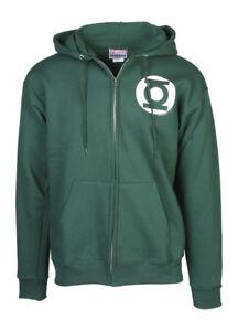 DC Comics Green Lantern Logo Hooded Zip-Up