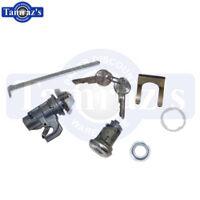 68 Chevelle Impala Nova Glove Box & Trunk Lock Kit Original Key Style - 150A New