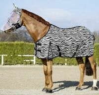 USG ZEBRA RUG - PONY/COB/FULL FOR HORSE EQUINE SUMMER FLY PROTECTION