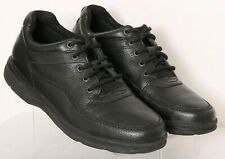 Rockport K71185 World Tour Classic Black Pebbled Leather Sneakers Men's US 11.5W