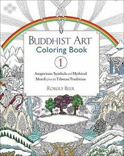 BUDDHIST ART COLORING BOOK 1 - BEER, ROBERT - NEW PAPERBACK BOOK