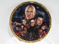 Star Trek: *The Best Of Both Worlds* Plate # 2866-G W/CERT