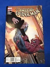 The Amazing Spider-Man # 675 Vulture HTF Newsstand Variant Marvel 2012 VF/NM