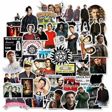 50pcs Supernatural Stickers, Sam Dean Cass Castiel, The Winchesters Bromance