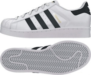 ADIDAS ORIGINALS SUPERSTAR WHITE LEATHER ADULTS SIZES 7 TO 13 UK