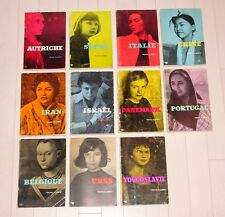 CHRIS MARKER - PETITE PLANETE 11 rare volumes set French La Jetee Sans Soleil