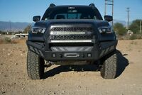 Heavy Duty Front Bumper for 2016-2021 Toyota Tacoma   3-Piece Modular Design