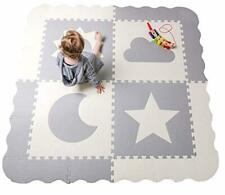 2X Larger Waterproof Thick Washable Foam Floor Mat For Kid Toddlers With Handle