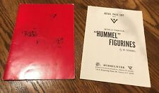 "World Famous ""Hummel"" Figurines by W. Goebel Book & 1971 Price List"