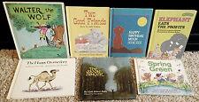 7 HC Weekly Reader Book Lot~Spring Green~Happy Dromedary~Moon Singer~Walter Wolf