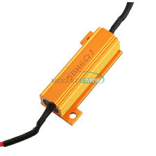 New LED Load Resistor Warning Decoder With Two Cancellers 5W-50W 6Ω For 12V Cars