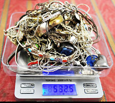 532 Grams Sterling Silver .925 - Scrap and Wearable Lot K