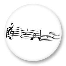 Magnet Aimant Frigo Ø38mm Musique Note Solfège Partition Rythme Son Tempo