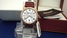 MEN'S INGERSOLL GRAFTON INQ001WHRS QUARTZ DATE G/PLATED WATCH NEW  SPECIAL OFFER