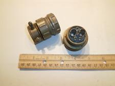 Used - Ms3106A 24-12P (Sr) - 5 Pin Plug