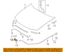 SUBARU OEM 97-01 Impreza Hood-Lock Latch 57310FA130