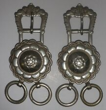 *Antique ceremonial military buckles- matching pair*