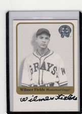"2001 FLEER GREATS OF THE GAME WILMER FIELDS ""DIED JUNE 4 2004"" AUTOGRAPH/AUTO*"