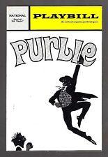 "Robert Guillaume ""PURLIE"" Patti Jo / Sherman Hemsley 1972 Washington Playbill"